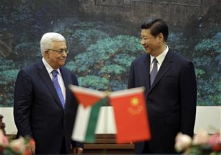 Mahmoud Abbas, Xi Jinping