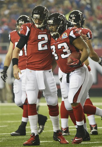 Matt Ryan ,Michael Turner