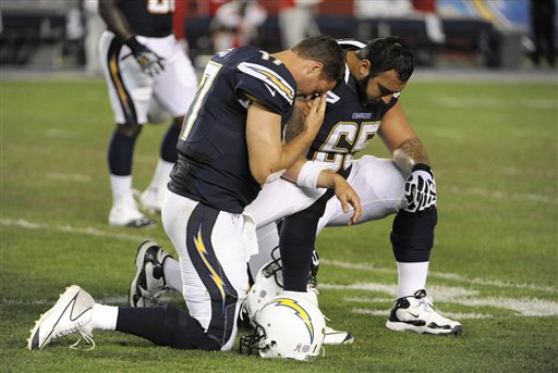 Philip Rivers, Louis Vasquez