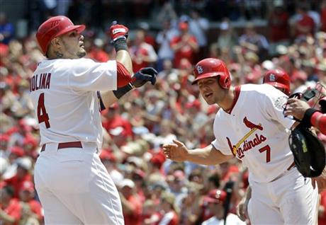 Yadier Molina, Matt Holliday