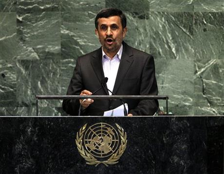 Mahmoud Ahmadinejad