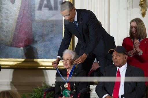 Obit Katherine Johnson