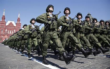 US Russia Military