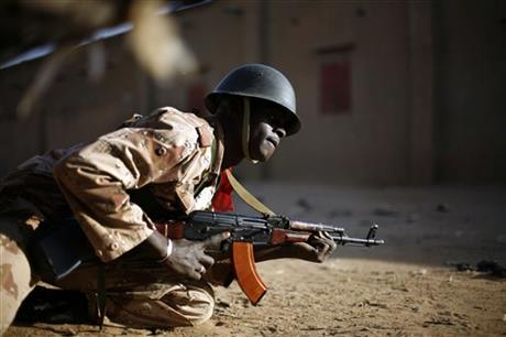 APTOPIX Mali Fighting
