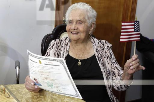 Naturalization Ninety Nine Year Old