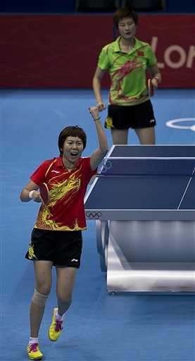 London Olympics Womens Table Tennis
