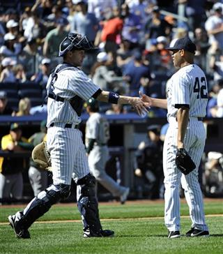 Chris Stewart, Mariano Rivera