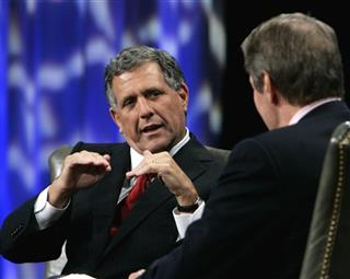 Leslie Moonves, Charlie Rose