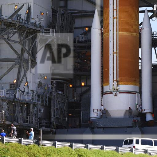 Delta IV Rocket Prepares for Launch in Cape Canaveral, US - 21 Aug 2019