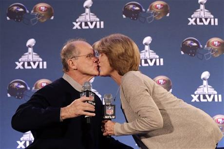 Jack Harbaugh, Jackie Harbaugh