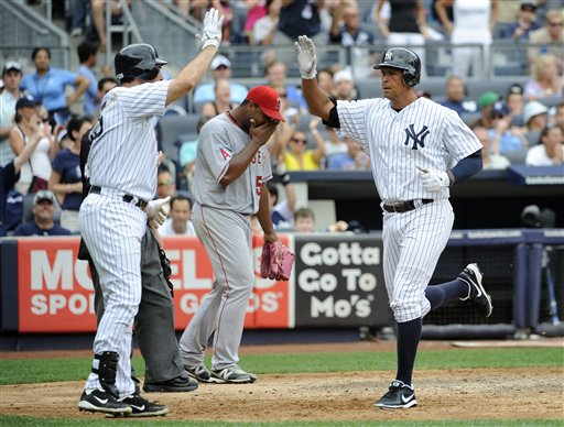 Mark Teixeira, Alex Rodriguez, Jerome Williams