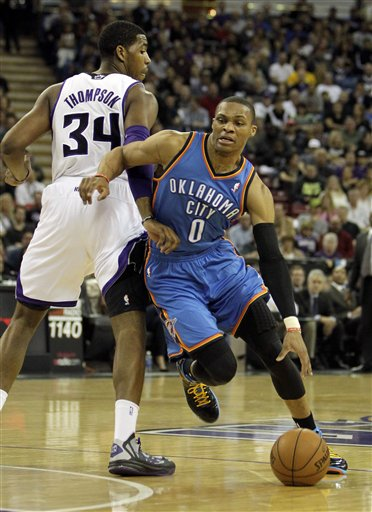 Jason Thompson, Russell Westbrook