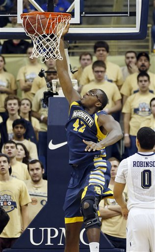 Marquette Pittsburgh Basketball