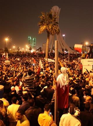 Mideast Bahrain Uprising at Crossroads