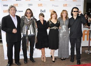 Tom Bernard, Johnny Depp, Natalie Maines, Lorri Davis, Amy Berg, Damien Echols