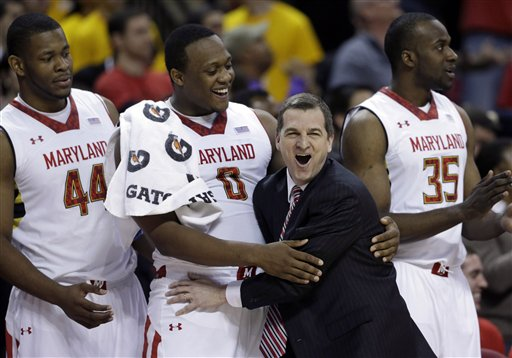 Mark Turgeon, Shaquille Cleare, Charles Mitchell, James Padgett