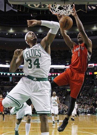 Paul Pierce, Dominic McGuire