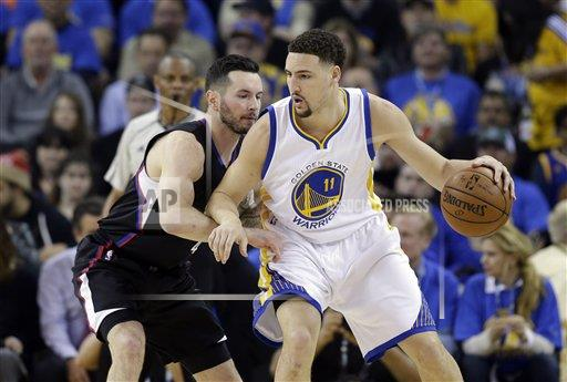 Clippers Warriors Basketball