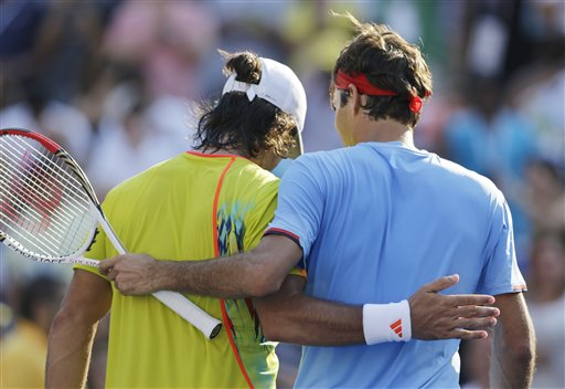 Roger Federer, Fernando Verdasco