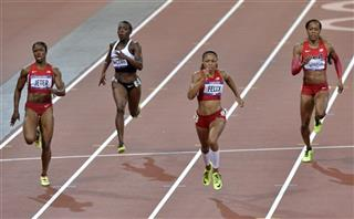 London Olympics Athletics Women