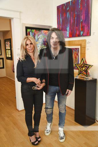 Opening of Paul Stanley's Art Exhibition
