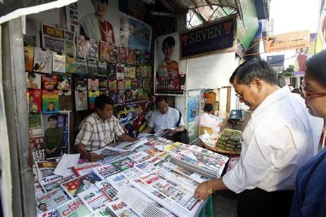Myanmar Press Freedoms