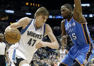 Kevin Durant, Andrei Kirilenko2
