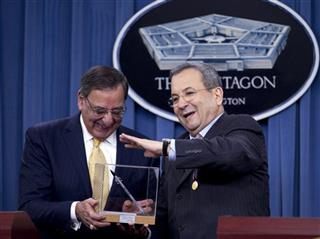Leon Panetta, Ehud Barak