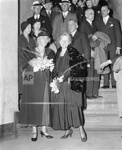 Watchf Associated Press Domestic News Election campaigns New York United States APHS124908 First Ladies For Hoover 1932