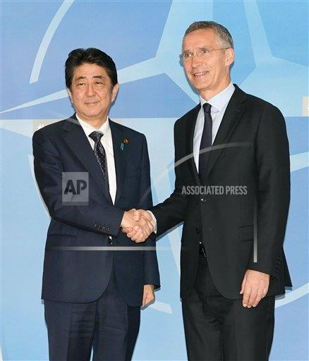 Japan, NATO look forward to further cooperation at sea, in cyberspace
