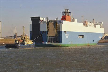Netherlands Ship Collision