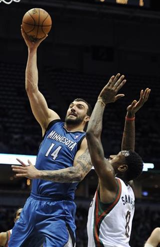 Nikola Pekovic, Larry Sanders