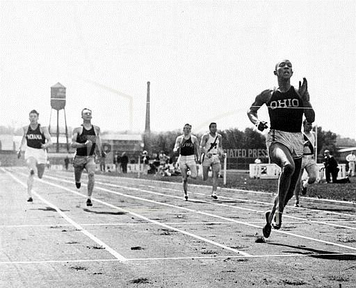 Associated Press Sports Michigan United States Track and field WESTERN CONFERENCE JESSE OWENS