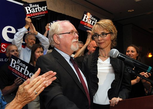 Ron Barber, Gabrielle Giffords, Nancy Barber