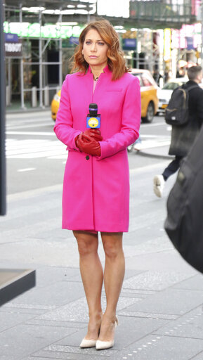 Ginger Zee on Good Morning America