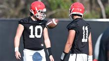 Georgia Quarterbacks Football