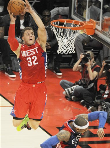 Blake Griffin, Carmelo Anthony