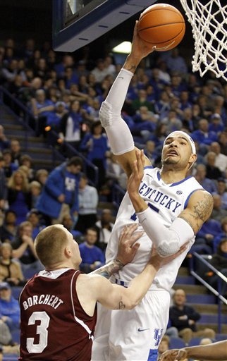 Willie Cauley-Stein, Colin Borchert 