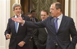 John Kerry, Sergey Lavrov