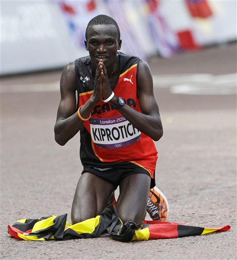 APTOPIX London Olympics Athletics Men Marathon