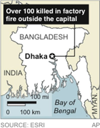 BANGLADESH FIRE
