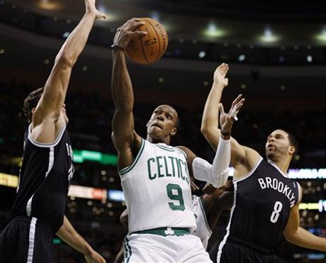 Rajon Rondo, Brooklyn Nets, Kris Humphries