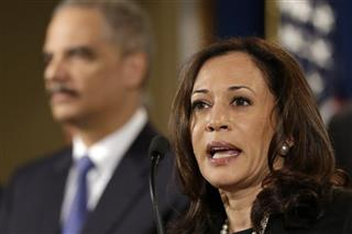 Eric Holder, Kamala Harris
