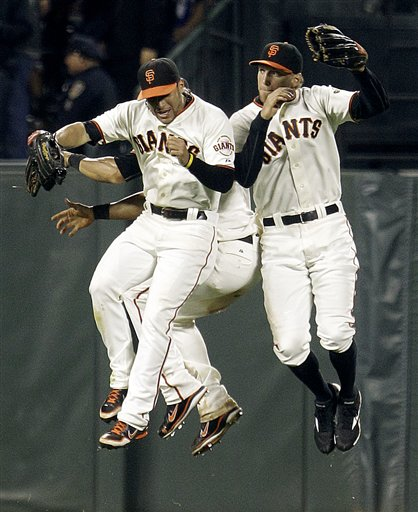 Hunter Pence, Gregor Blanco