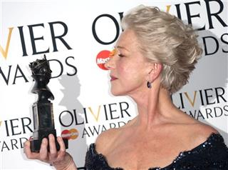 Helen Mirren winner of Best Actress Award for The Audience