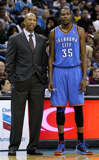 Monty Williams, Kevin Durant