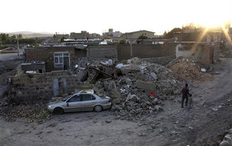 Mideast Iran Earthquake