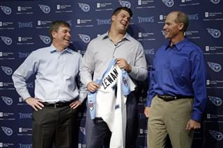 Taylor Lewan, Ken Whisenhunt, Ruston Webster