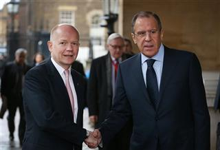 William Hague, Sergey Lavrov