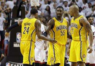 Paul George, Roy Hibbert, David West